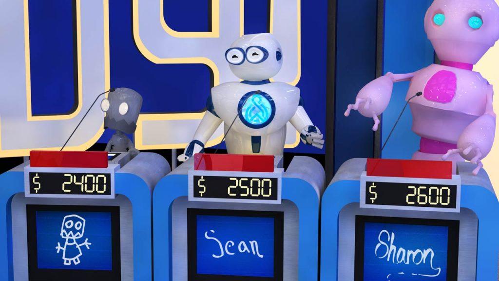 Robot Playing Jeopardy - Alex Trebek tribute